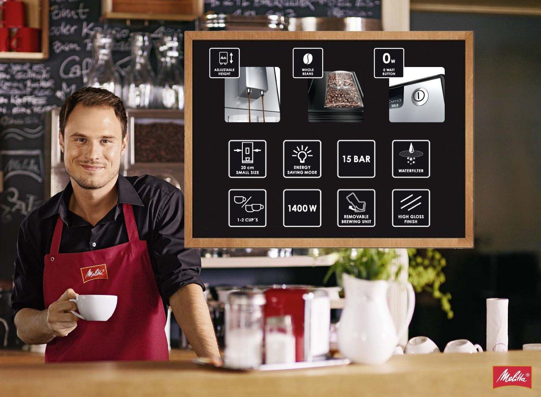 kaffeevollautomat caffeo solo pure lagerhaus salzburg. Black Bedroom Furniture Sets. Home Design Ideas
