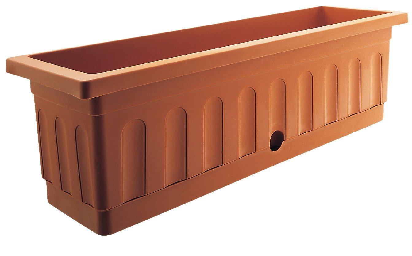 blumenkasten itaca terracotta 100 cm lagerhaus salzburg. Black Bedroom Furniture Sets. Home Design Ideas