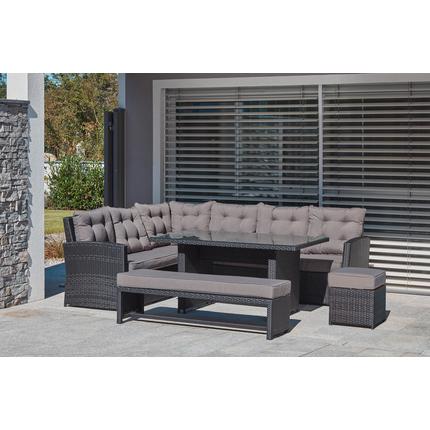 esslounge set dahlia 5 tlg lagerhaus salzburg. Black Bedroom Furniture Sets. Home Design Ideas