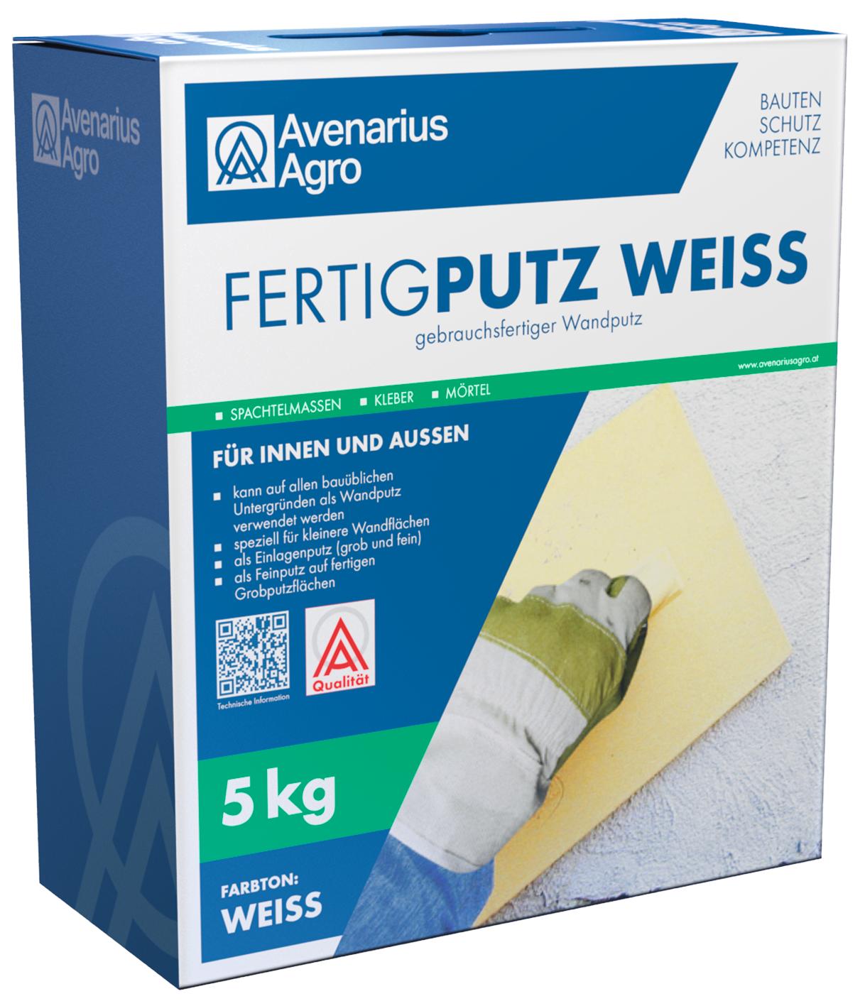 fertigputz weiß 5 kg | lagerhaus salzburg