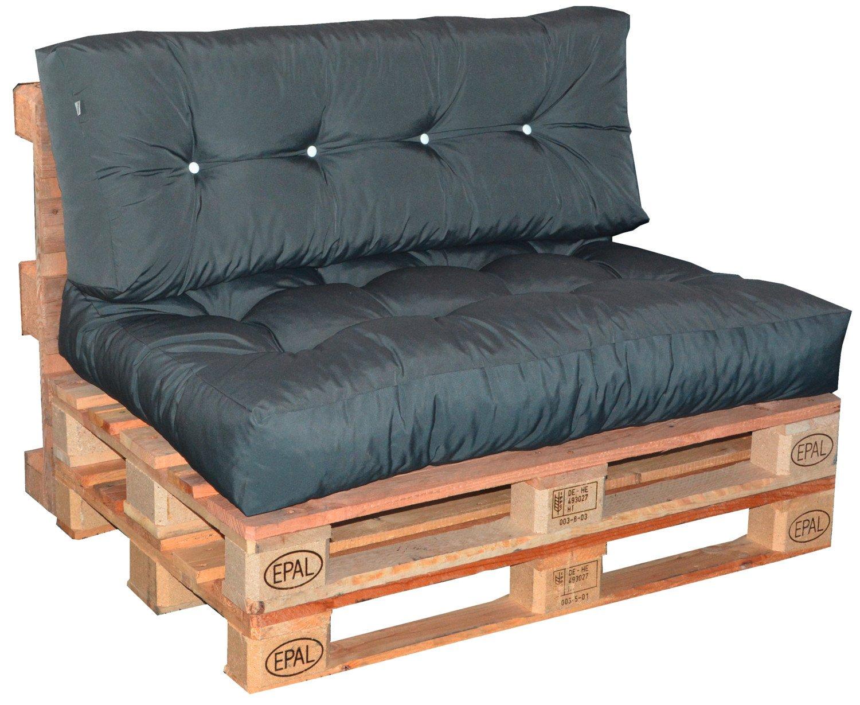 sitzkissen f r paletten anthrazit b 120 x t 80 cm. Black Bedroom Furniture Sets. Home Design Ideas